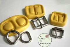 Buckle set, flexible silicone molds for cake decorating M5024