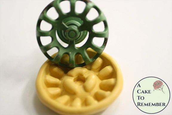 Silicone rubber faucet handle mold M5186