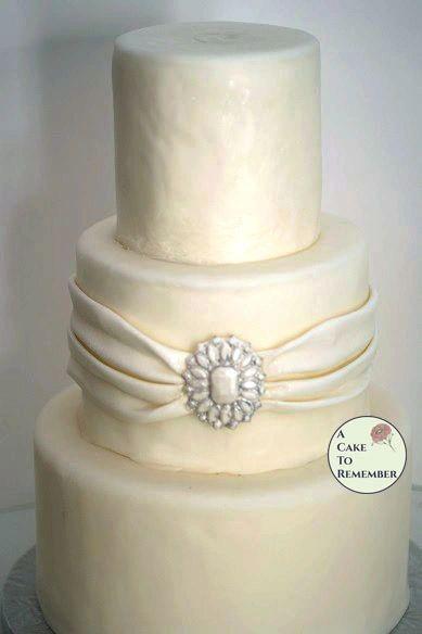 Center Stone jeweled mold for cake decorating