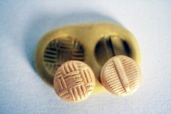 Silicone Buttons Mold for cake decorating