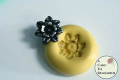 Little flower flexible silicone mini mold M5224