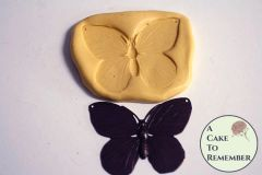 Butterfly mold for cake decorating, cupcake decorating or polymer clay M1095