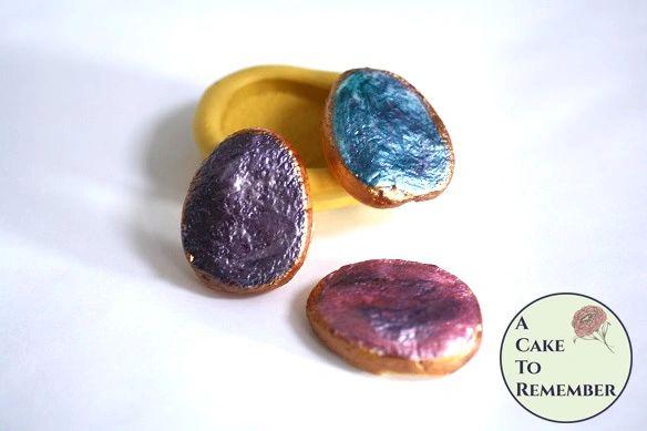 Druzy gemstone silicone mold M5133