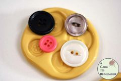 Basic buttons silicone mold clay craft supplies M1063