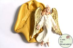 Angel food safe silicone mold. M5169