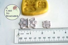 Fancy Hinges silicone mold for fondant M1113