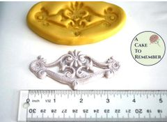 Swag silicone mold for fondant and cake decorating, M1111