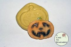 Silicone Pumpkin Mold for Halloween cake decorating M024