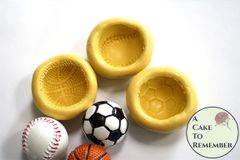 Sports ball food safe silicone mold M5189