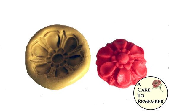 Flower silicone mold for fondant M095