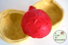 3D Christmas ornament silicone mold- Star patterns