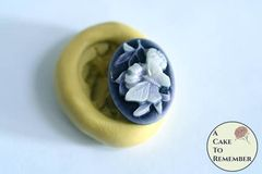Mini mold butterfly cabochon flexible silicone mold. M5216
