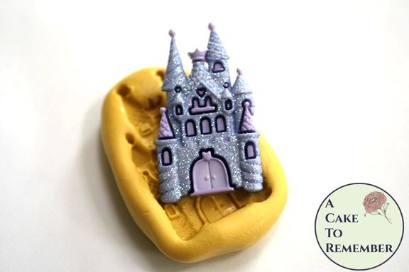 "2"" princess castle silicone rubber mold M5187"