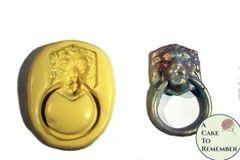 Lion door knocker silicone rubber mold M088