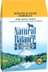 Natural Balance Duck & Potato 13# Adult Dog