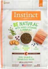 Nature's Variety Be Natural Salmon & Brown Rice 24#