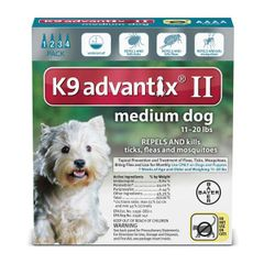 Advantix II Dog Medium 11-20#