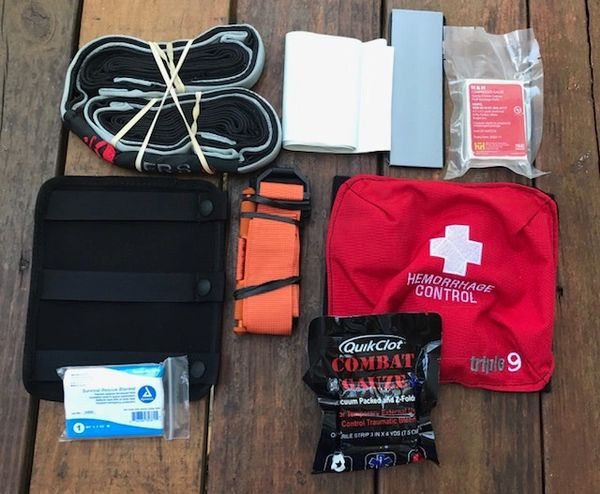 Outdoor Trauma Kit System ERS SAR v2 Loadout