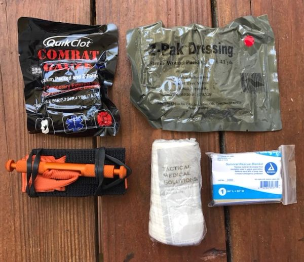 Outdoor Trauma kit v1 load out