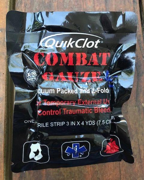 Quik Clot Combat Gauze LE