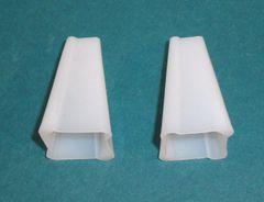 One Pair (2) of KIRSCH Traverse Drapery Curtain Rod EASY GRAB PULL CORD TASSELS