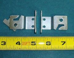 LARGE TAB Metal Roller ~ LOCKING WINDOW SHADE BRACKETS