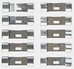 10 Pack Vertical Blind Vane Saver Repair Clips - Flat Style