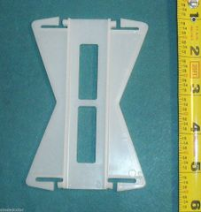 "Kirsch 4 1/2"" CONTINENTAL Rod - FLEXIBLE CORNER & BAY WINDOW ADAPTER"