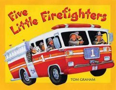 #114543 Five Little Firefighters