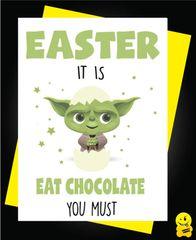 Easter Card - Yoda E14
