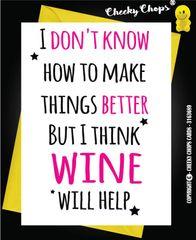 Wine will help - G2