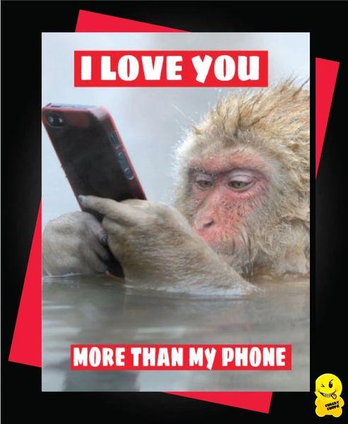 I love you more than my phone V80