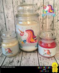 Magical as fuck unicorn - Wanky Candle (2 sizes)