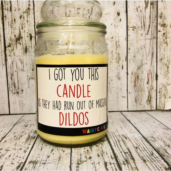 Wanky Candle - DILDO (16oz)