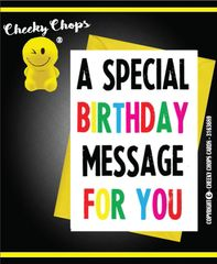 A special birthday message for you - C974