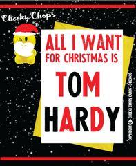 Christmas Card TOM HARDY XM53