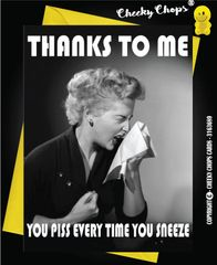 Piss and Sneeze Greeting Cards - C99