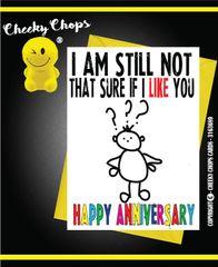 Anniversary - Not Sure Husband A22