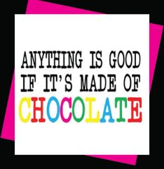 Anything is good if it's made of chocolate (Girl10)