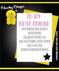Best friend perfect imperfections - C104