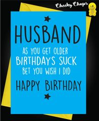 HUSBAND - Birthday's Suck C459