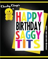 Happy Birthday Saggy Tits C940