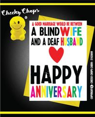 Anniversary, Valentine's - Deaf Husband A19