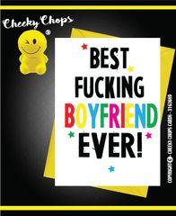 Best Boyfriend - Birthday, Anniversary, Valentines A3