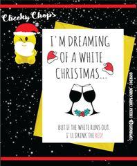 Christmas Card - White Christmas XM84