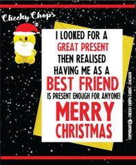 Christmas Card - Best Friend XM78