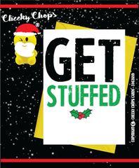 Christmas Card - Get stuffed XM60