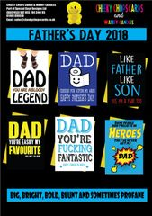 Father's Day CARD PACK - £50 - £100 - £200