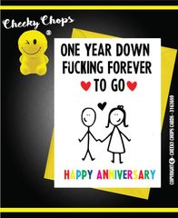 Anniversary, Valentine - One year down A11