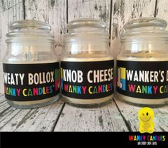 WANKY WILLY PACK - - Wanky Candle